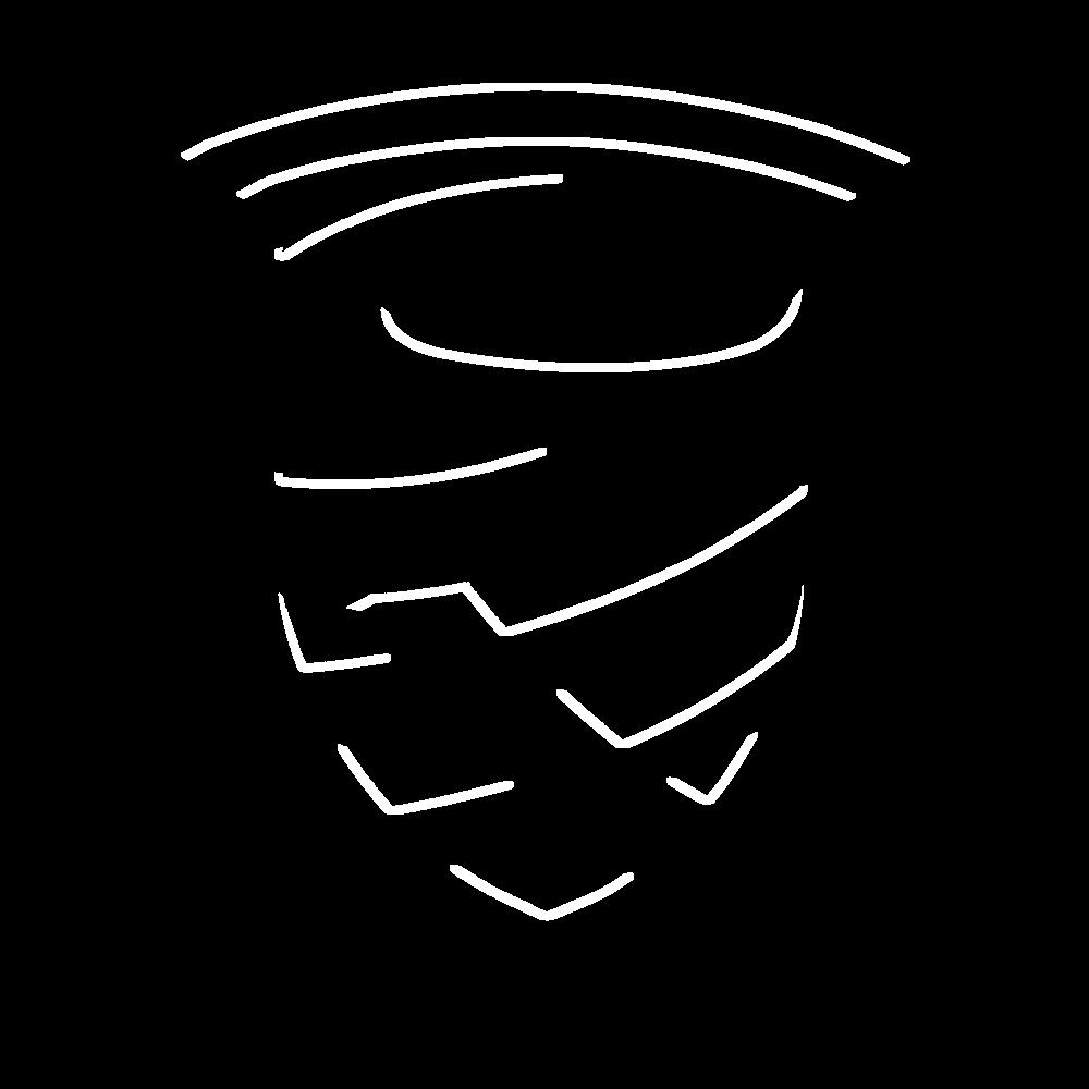 Set vloermatten zwart (4 stuks)